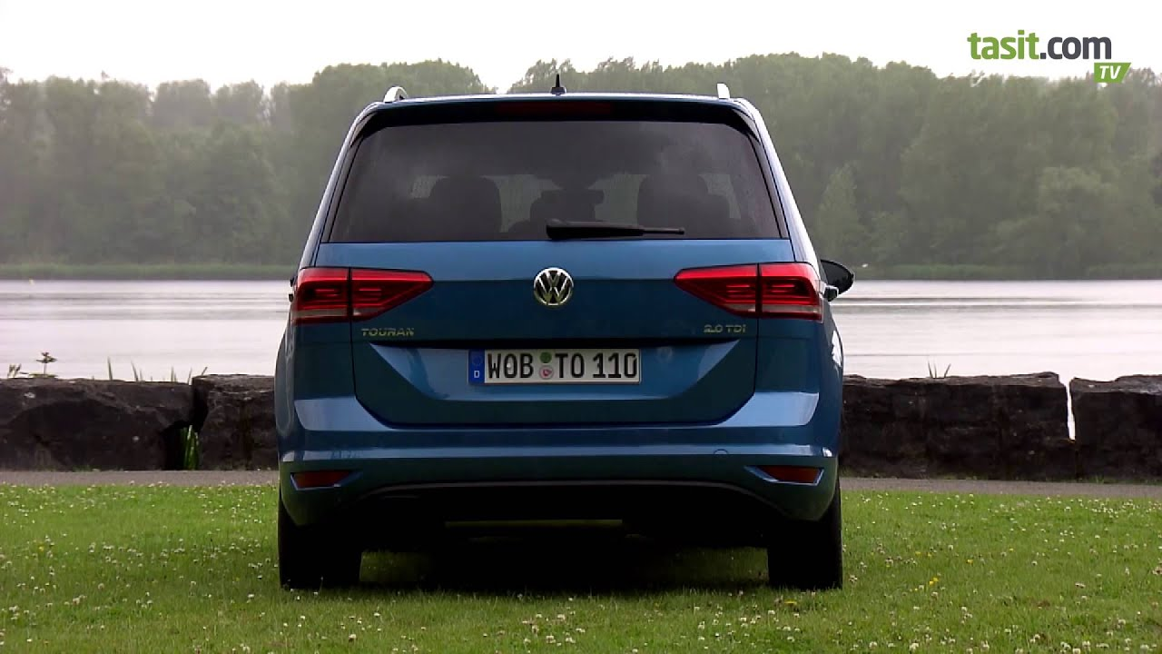 2016 volkswagen touran test sürüşü - youtube