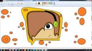 Рисуем картинку майнкрафт на аватарку в YouTube! ( Через Paint)