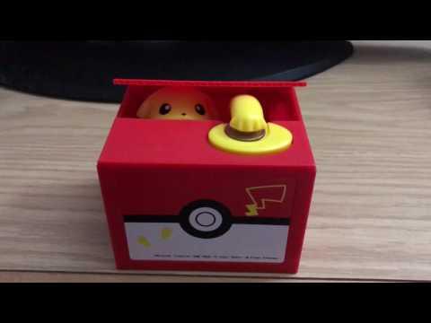 Pokémon Pikachu Itazura Coin Bank