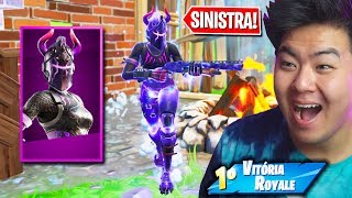 THE MOST SINISTER SKIN OF THE NEW DARK PACKAGE!! | FORTNITE