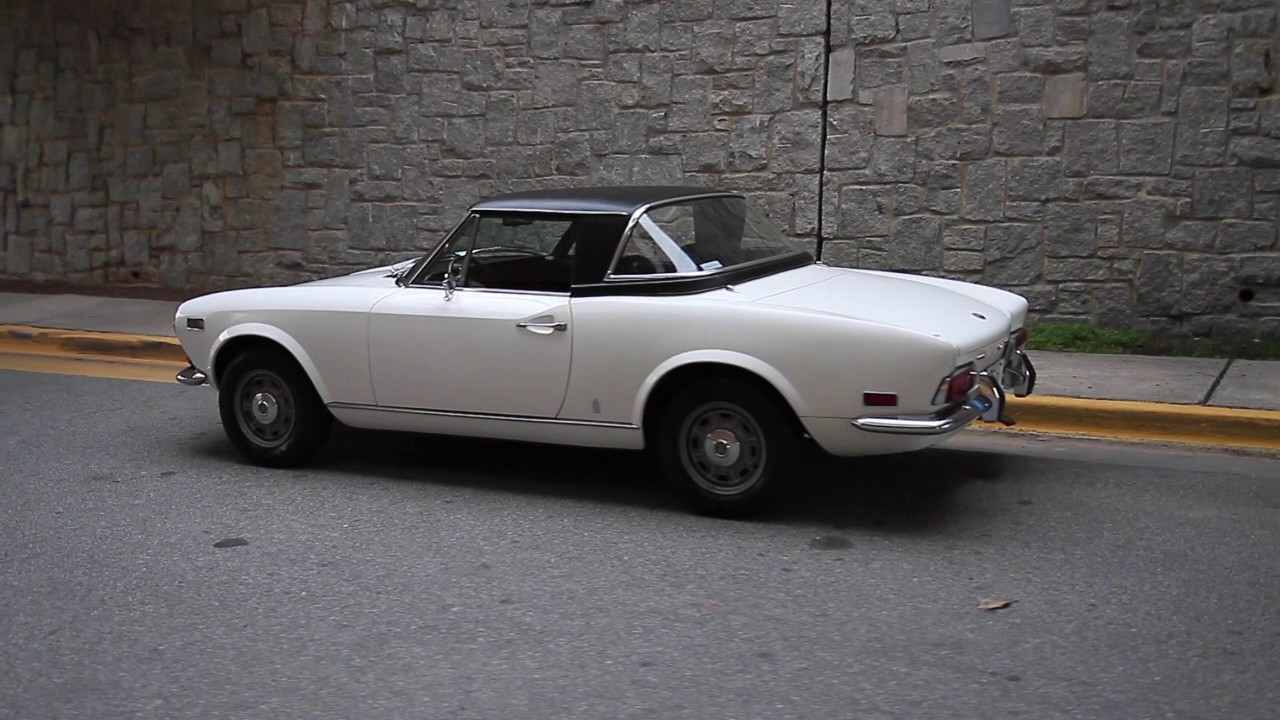 Fiat spider hardtop for sale