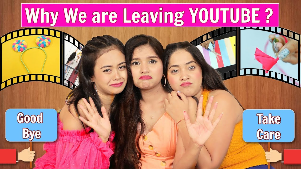 Why we are leaving Youtube? | Taking a Break | DIYQueen