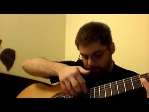Serial Poem - Atonal Classical Guitar Music