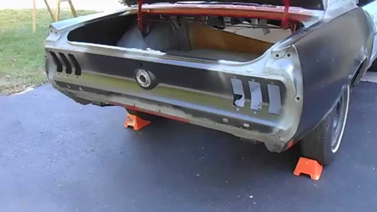 67 mustang restoration you can do it