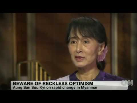 Daw Aung San Suu Kyi's Interview with CNN's Amanpour
