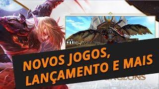 2 novos MMORPGs anunciados, gameplay do MMORPG da Amazon, e jogo de sobrevivência free-to-play