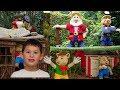 Fairy Tale brook boat ride in Legoland Windsor Aug 2018