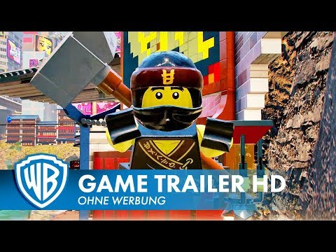 THE LEGO NINJAGO MOVIE VIDEOGAME – Ninja-Beweglichkeit Trailer Deutsch HD German (2017)
