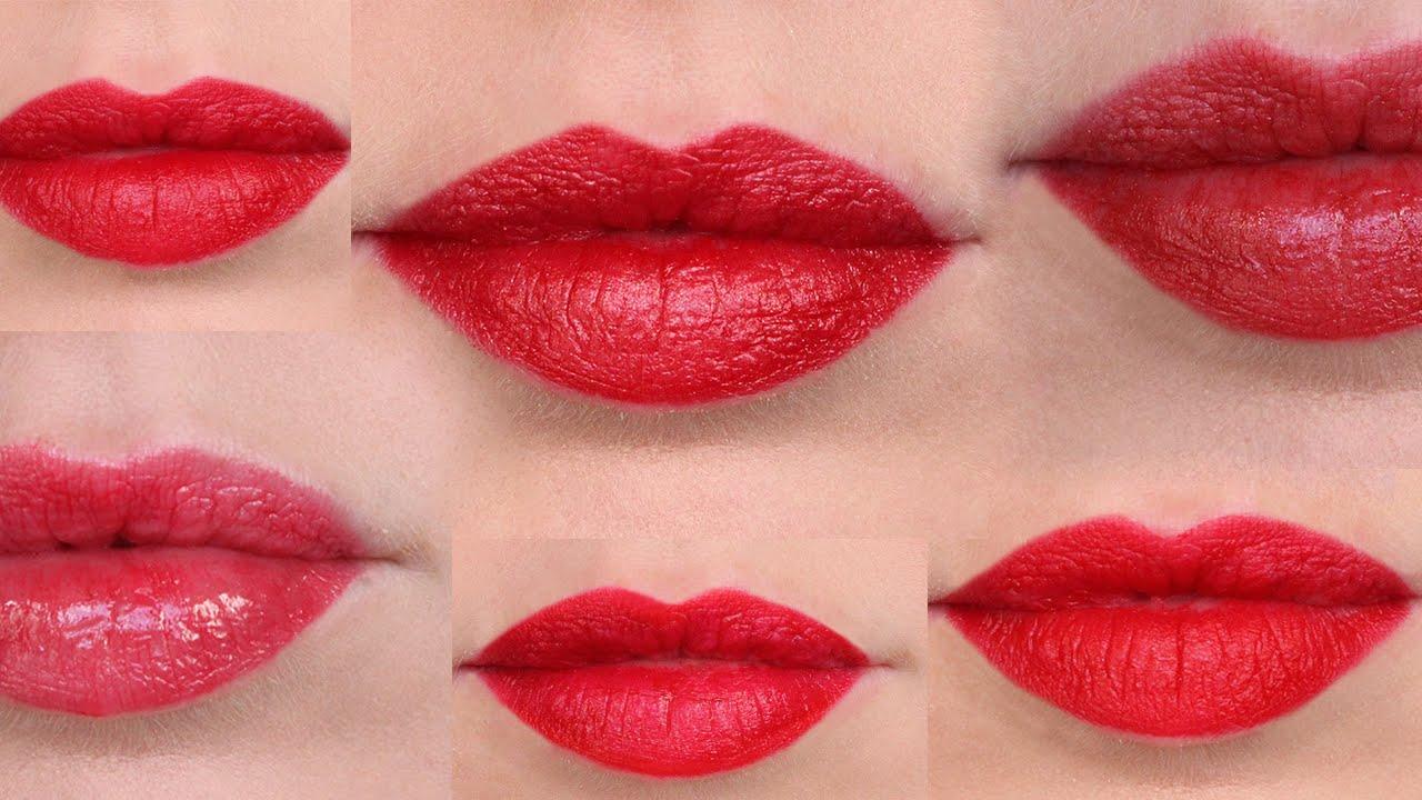 Frugal Fridays | Top 7 Drugstore Red Lipsticks - YouTube