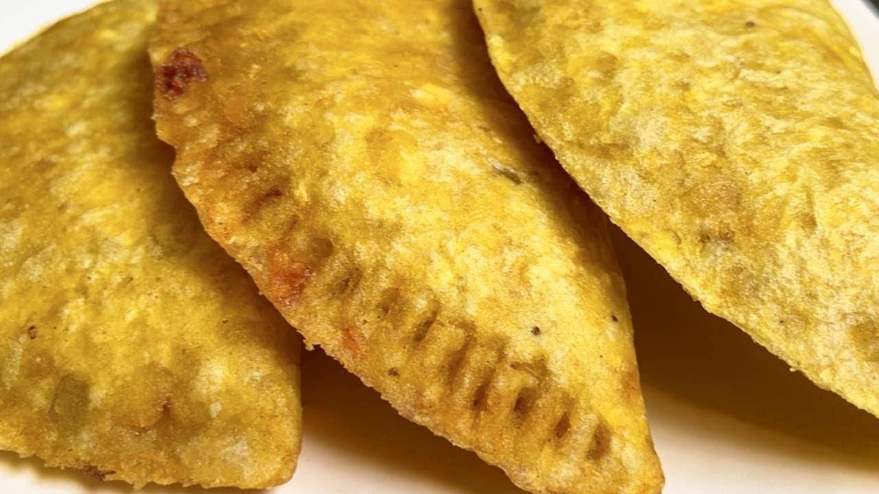 Empanadas de Plátano Verde   El de las trufas - YouTube