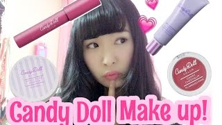 💟candy dollでフルメイク💟