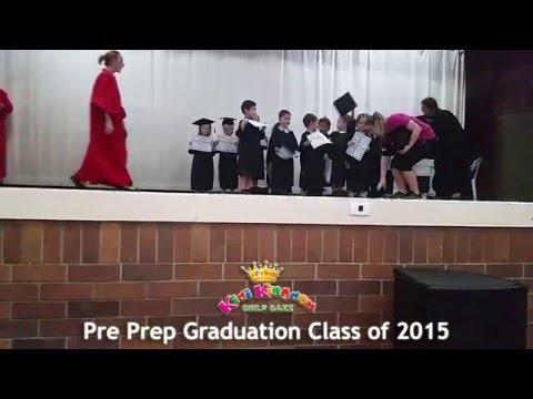 Pre Prep Graduation Class of  2015