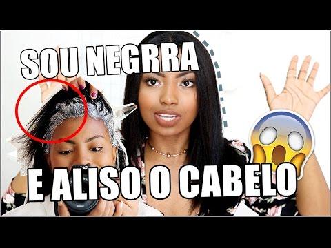 COMO ALISO MEU CABELO REVELEI O SEGREDO  Camila Nunes