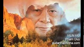 HẸN HÒ - Guitar Solo