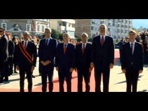 105-vjetori i Pavarësisë/ Meta-Rama e Thaçi ngrenë Flamurin në Vlorë