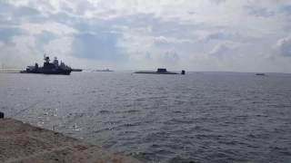 Возвращение в Финский залив после репетиции