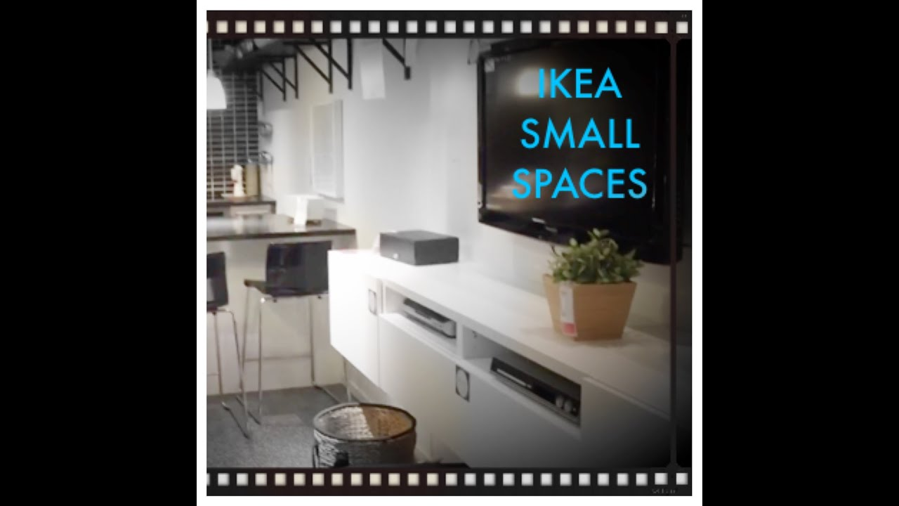 Ikea small spaces 260 square feet and 375 square feet for Ikea small spaces