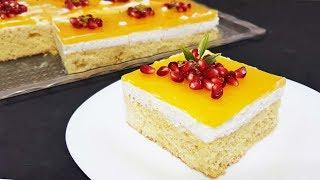 Hiç Bayatlamayan Yumuşacık Portakallı Pamuk Pasta Tarifi - Ritmik Mutfak