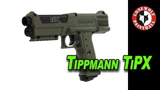 "Tippmann TiPX .68 Caliber Paintball Pistol w/ David ""Reaper"" Justin 