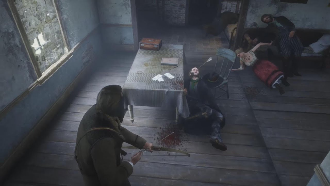 Rdr 2 Robbing Valentine Doctor Back Room Lowest Wanted Bounty