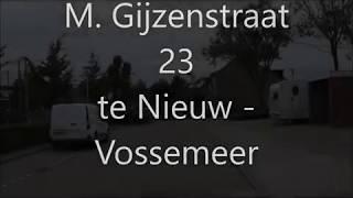 M Gijzenstraat 23 te nieuw vossemeer