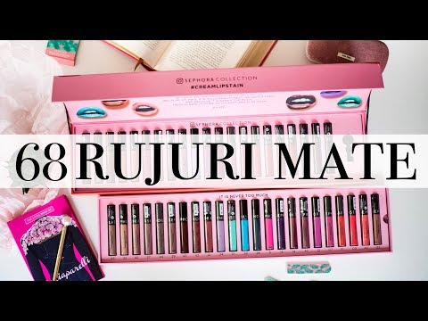 68 de rujuri mate | Swatchuri Mac Retro Matte si Sephora Cream Lipstain
