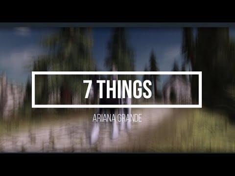 SSOMV II 7 Things
