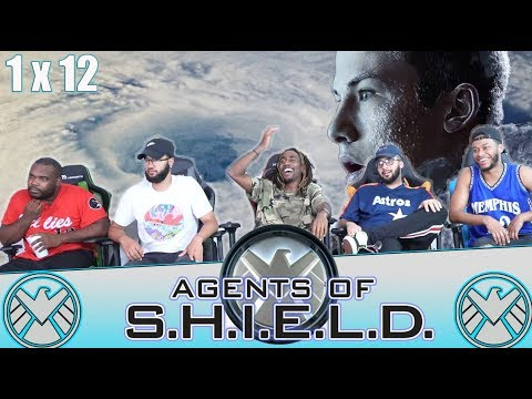 Agents OF Shield 1 X 12 Reaction!