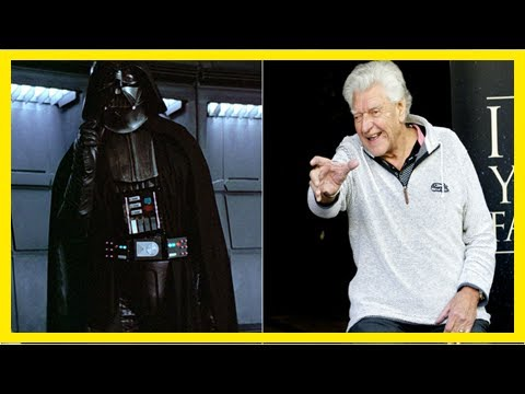 Breaking News | Darth vader actor david prowse has officially retired