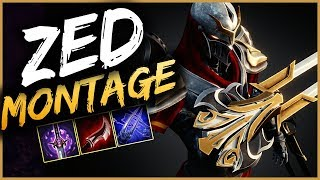 Zed Montage 15 - Best Zed Plays season 9 - League of Legends