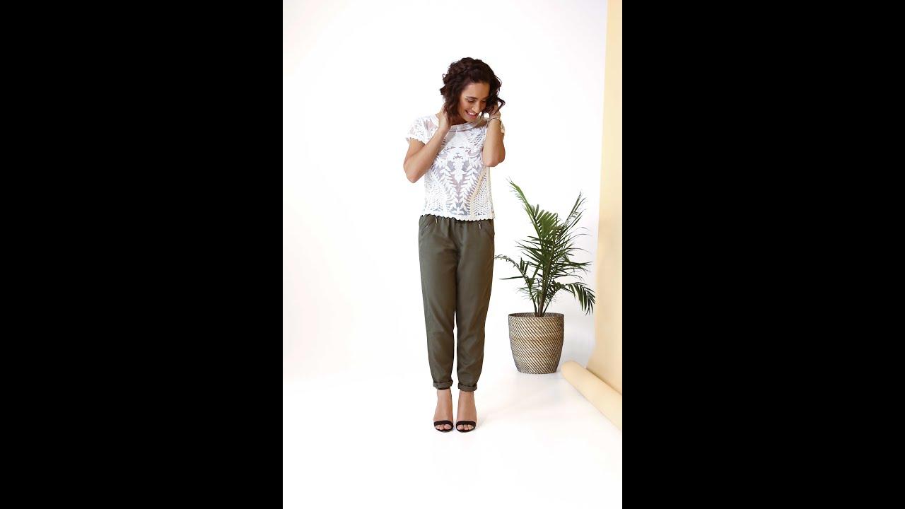 Comment porter le pantalon fluide youtube - Que porter avec un pantalon beige femme ...