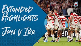 Extended Highlights: Japan 19-12 Ireland - Rugby World Cup 2019
