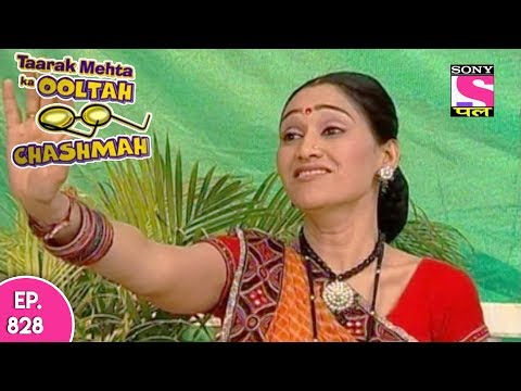 Taarak Mehta Ka Ooltah Chashmah - तारक मेहता - Episode 828 - 30th October, 2017