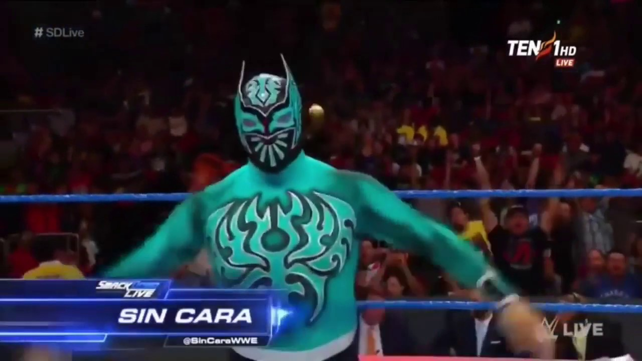 "Sin Cara ""Mask Off"