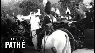 King And Queen In Carriage (1910-1920)