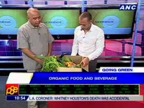 [ANC Mornings] Going Green:  Organic food and beverage