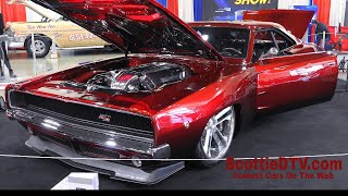 """1968 Dodge Charger """"RTR""""  Street Machine The Grand National Roadster Show 2018"""