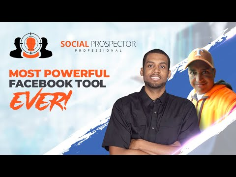 SOCIAL PROSPECTOR PRO FACEBOOK SOFTWARE CREATOR INTERVIEW! MUST SEE! 👉972-275-NICK (6425)