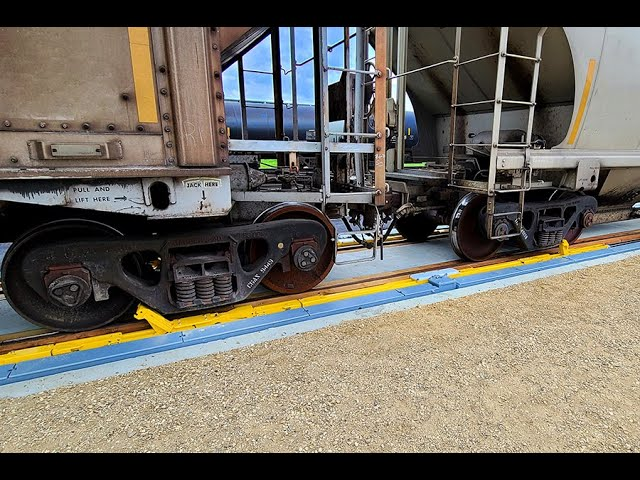 Recently Commissioned Indexer/Railcar Mover