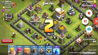 Clash of clans #1 un attacco niente male