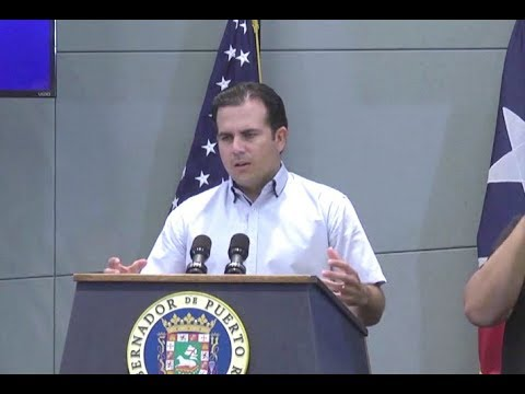 Puerto Rico's Governor On Federal Hurricane Relief- Full News Conference