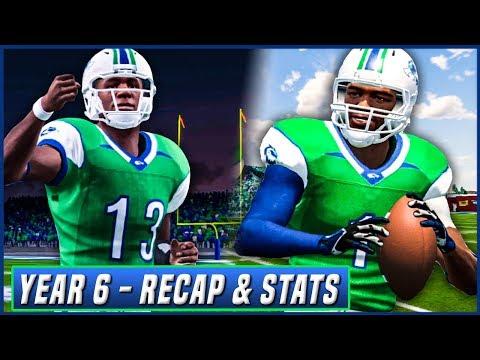 NCAA Football 14 Dynasty Year 6 - Season Recap, Stats, & Offseason Preview | Ep.106