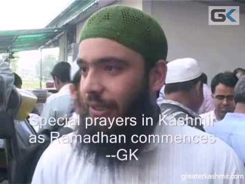 Special prayers as Ramadhan starts in Kashmir