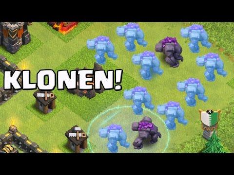 GOLEM KLONEN! || CLASH OF CLANS || Let's Play CoC [Deutsch/German HD+]