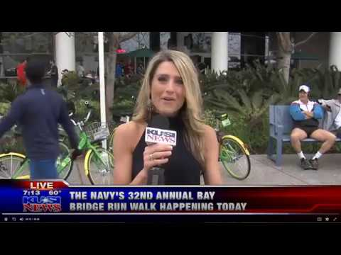 Navy Coronado Bay Bridge Run May 20, 2018