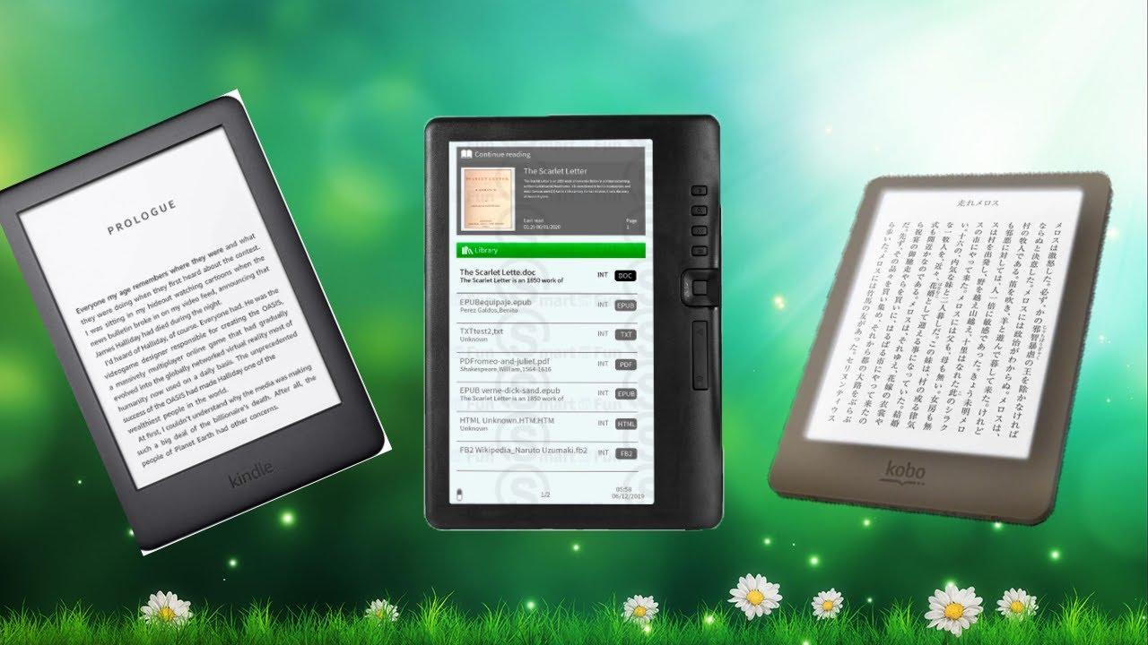 Топ 3 электронных книг с Aliexpress