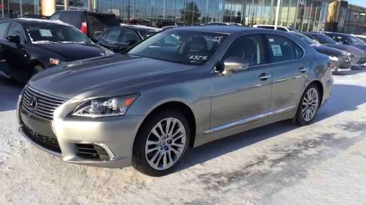 New 2015 Lexus LS 460 AWD Review - YouTube