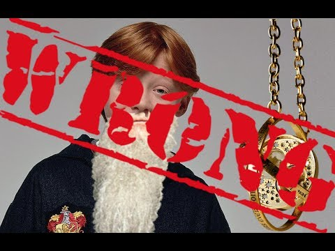 DEBUNKED Harry Potter Theory: Dumbledore is NOT a time travelling Ron Weasley!