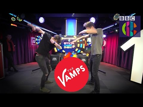 The Vamps DAB Challenge | CBBC Official Chart Show