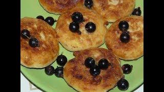 Вкусные Пышные Сырники с Ягодами/ Как сделать вкусные сырники